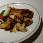 66903567 - 豚肉とキャベツの辛味噌炒め