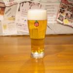 ビア&ヴルスト ベアレン - ビールグラス