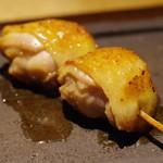 焼鳥 市松 - もも肉の付け根