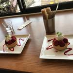 カフェ ゼッカ - 苺タルト