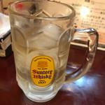 ぐりたこ - 角ハイボール(飲みかけw)