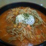 柳家 - 料理写真:レアチーズキムチ納豆950円