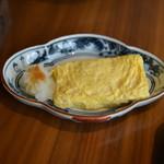 日本料理 弁慶 - 焼き立てだし巻き玉子