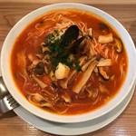 スパゲッティー専科 はらっぱ - 魚介とキノコのモンテマーレ