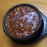 武市総本店 - スープ(激辛250)