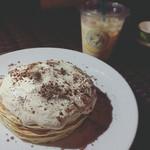 ホノルル コーヒー - コナコーヒークリームパンケーキ✩
