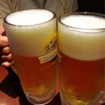 福盈門 - ちょっと泡が雑なビール