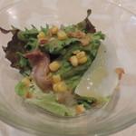 オッティモ・キッチン - セットのサラダ