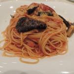 オッティモ・キッチン - ランチのナスのアラビアータ(大盛り)