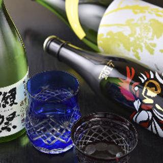 【店主厳選】地鶏に合うこだわりの『日本酒』。なんと\500~