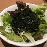 炭火焼肉やざわ - 岩のりサラダ
