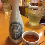66919691 - 老酒。徳利が中華っぽい!