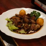 食い道楽 - 鶏モツ煮