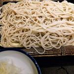 66921449 - 天丼セット(もり蕎麦)