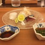 日本料理 晴山 - (2017年5月)お造り