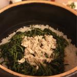 日本料理 晴山 - (2017年5月)土鍋ご飯