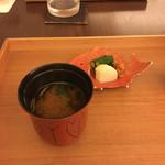 日本料理 晴山 - (2017年5月)赤出汁