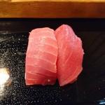 太田鮨 - 最初に鮪二種(17-05)