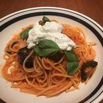 シチリアンテラスボーノ - 茄子とトマト・リコッタチーズのシチリア風