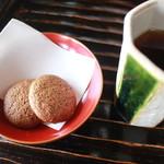 蕎亭 はる - お茶菓子