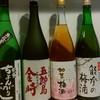 能登 車座 - ドリンク写真:石川の焼酎、梅酒です。