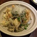 いごこち屋 あんばい - 穴子の天ぷら天丼