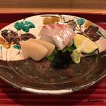 与志福 - 玉珧と真鯛の造り