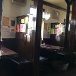 YamagataSteak&CafeRestaurant飛行船 - (2017-5-12)  店内、喫煙テーブル席