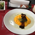YamagataSteak&CafeRestaurant飛行船 - (2017-5-12)  プラス200円でサラダとドリンクのセット
