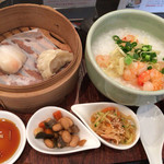 中国茶房 茶趣茶楽 - 料理写真:中華粥セット