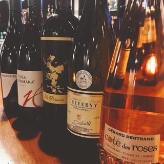 □数量限定のワインと日本酒□