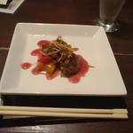 吉野 - まぐろの頬肉のステーキ?
