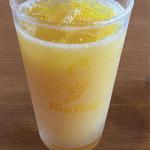 ビッグ ボーイ - ドリンクバー 2杯目 オレンジジュース