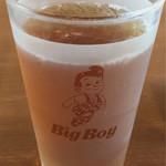 ビッグ ボーイ - ドリンクバー 3杯目 烏龍茶