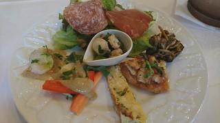 トラットリア ラ・スカーラ エ ピアディーナ - 前菜盛り合せ