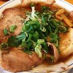 神戸ラーメン 第一旭 - 第一旭●醤油チャーシュー