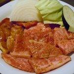 大平楽 - 大平楽ランチBのお肉