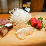 やぐら寿司 - 料理写真:お造り盛り合わせ