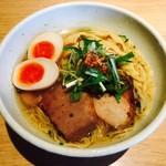 麺屋宗&SOU - 特製塩らぁめん(980円)