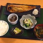 祐天寺ひろば 向日葵 - 焼き魚定食