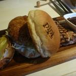 Casual Dining PiPi - 手作り島豚のミンチカツサンド