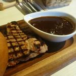 Casual Dining PiPi - 島豚グリル、淡路玉ねぎたっぷりの自家製デミグラスソース