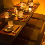 和牛炙り寿司 個室 囲庭 - 内観写真: