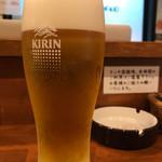メンチケン - 生ビール