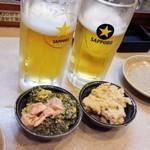 66937664 - 小鉢とビール
