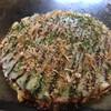 みさお好み焼店 - 料理写真:定食のお好み焼き