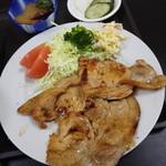 お食事処 しらい - 料理写真:生姜焼き