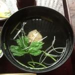 66939580 - 真いわし漬丼定食のつみれ汁