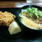 名波うどん - これだけ食べて550円