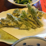 川なり - 山菜天ぷら